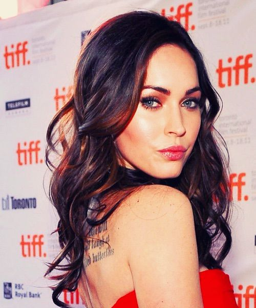 Image via We Heart It #celebs #hair #meganfox
