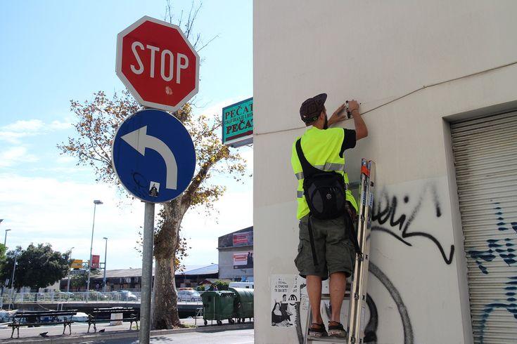 Les nouvelles Installations Street Art de Isaac Cordal à Rijeka en Croatie (15)