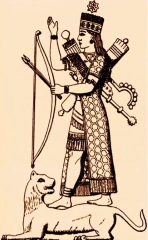 Иштар - богиня войны, мудрости и секссуальности