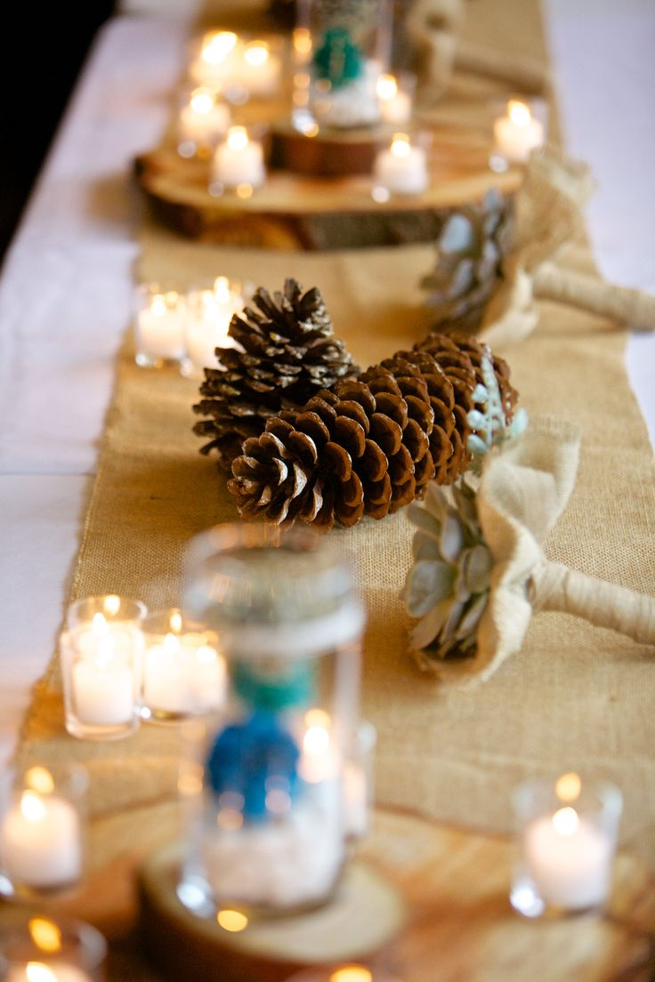 Pine Cone Wedding Table Decorations 17 Best Images About Wedding Precious Pine Cones And Succulents