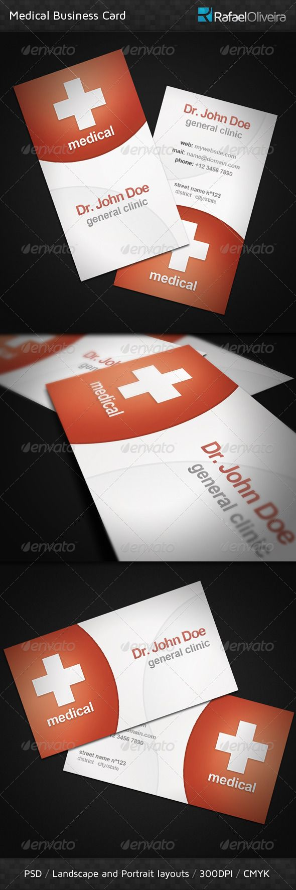 39 Best Dr Business Cards Images On Pinterest Business Card