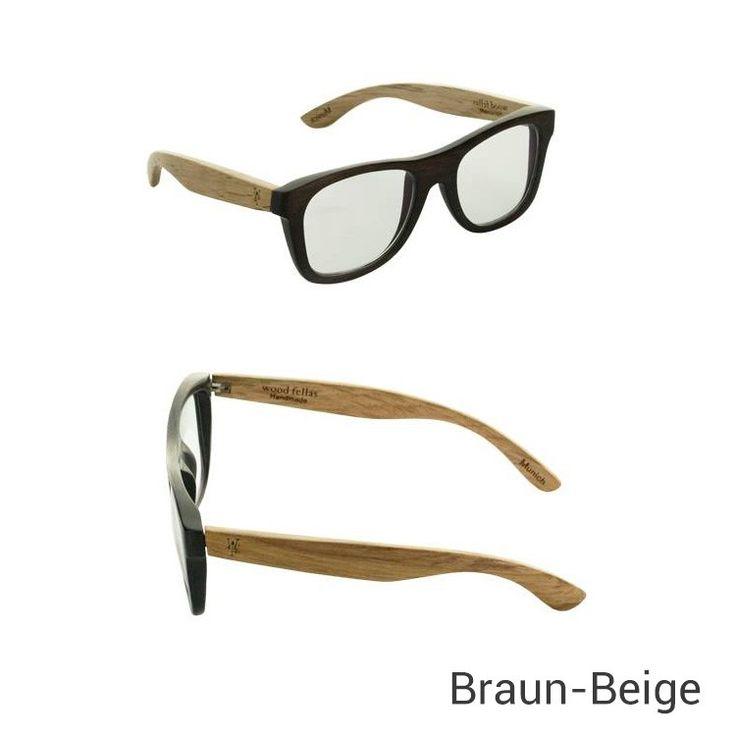 Wood Fellas Brille aus Eichen-Holz - Jetzt reduziert bei Lesara