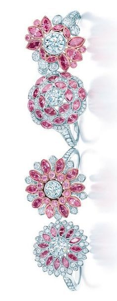 Rosamaria G Frangini | HighJewellery Modern | Tiffany & Co | White and Pink…                                                                                                                                                     More