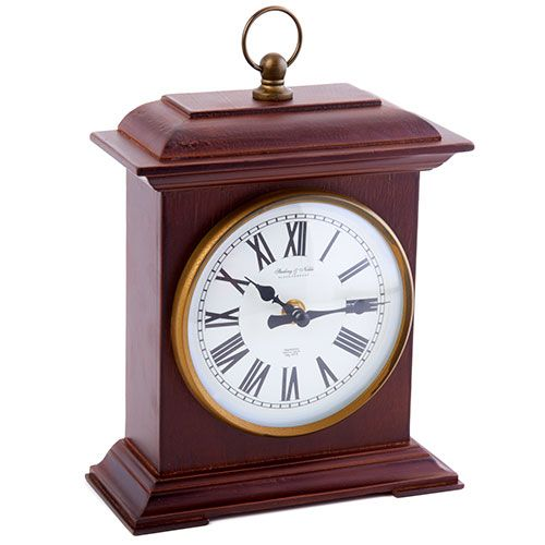 This traditional mantle clock brings elegance and a sense of time to any mantle. It makes it easy to make sure you area always on time! This features a gla