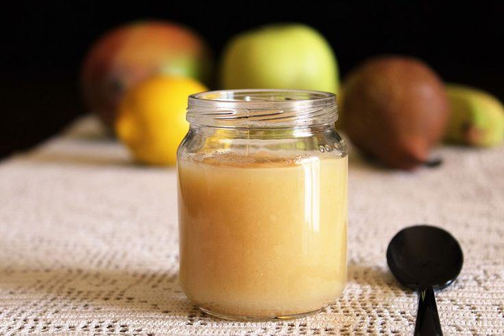 Omogeneizzato di frutta homemade
