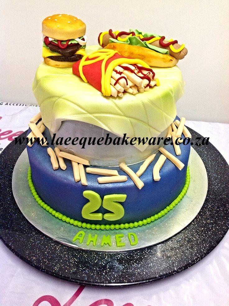 Freshcream junk food cake