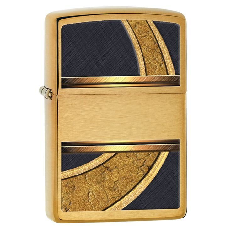 Zippo Gold And Lighter