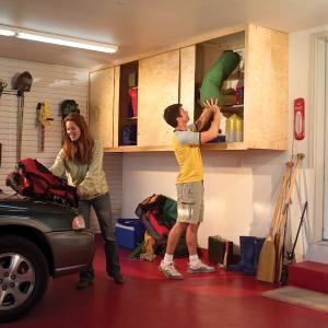 Deep Garage Cabinet Ideas