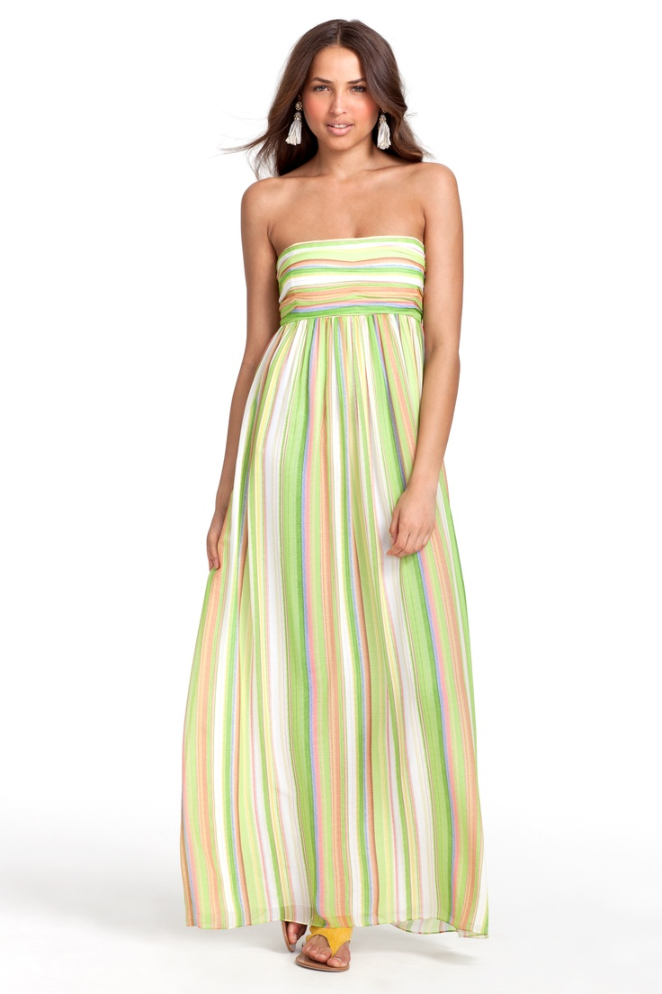 Love!: Styles Stuff, Maxi Dresses, Strapless Maxis Dresses, Calypso St., Summer Dinners, Nina Maxis, Fresh Shades, Calypso Barth, Nina Strapless