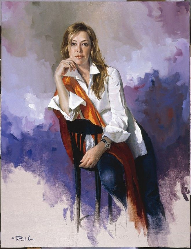 Ricardo Sanz . Sanz is a spanish artist with a unique style and imagination when it is about the contemporary world of art. His paintings are filled with sensuality, passion and beauty.