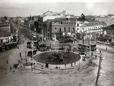 Cuatro Caminos, Madrid. 1913.