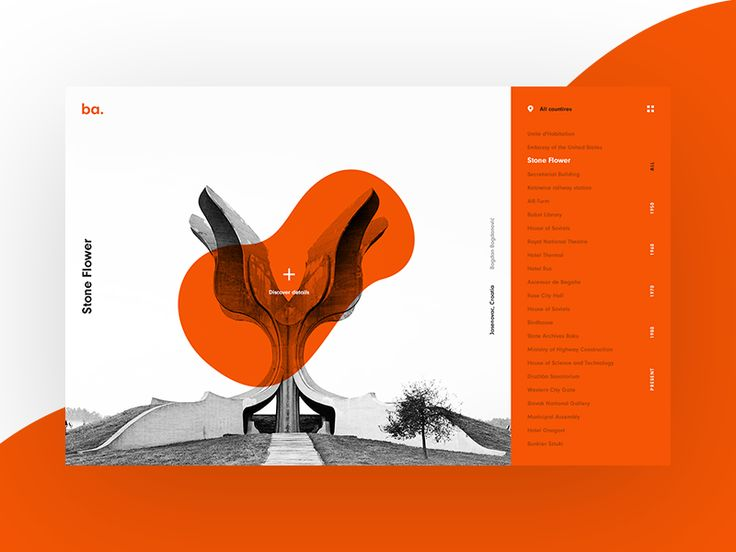 Brutal Architecture Website