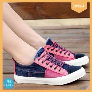 Sepatu Kets Levis Pink Wanita Terbaru