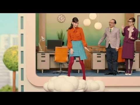 【HD】 大政絢 リクルート とらばーゆ「次のわたしに」篇 CM(15秒) - YouTube