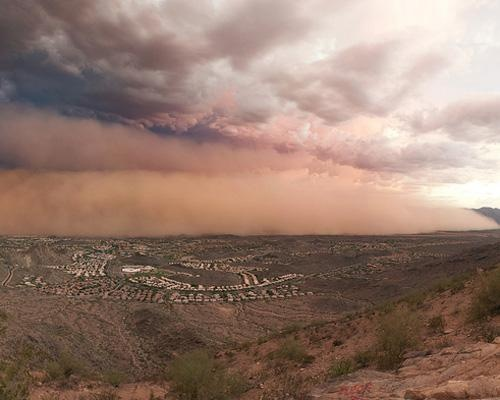 Dust storms are an increasingly common problem in the world as arid conditions leave behind mounds of dry, loose soil. As climate change and water shortages work in tandem, some experts wonder if we've set ourselves up for a 21st-century Dust Bowl. Pictured hereis a monster dust storm engulfing Phoenix, Ariz., on July 31, 2011. From mother nature network