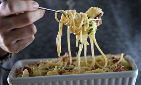 Jack Monroe's cauliflower and bacon carbonara recipe