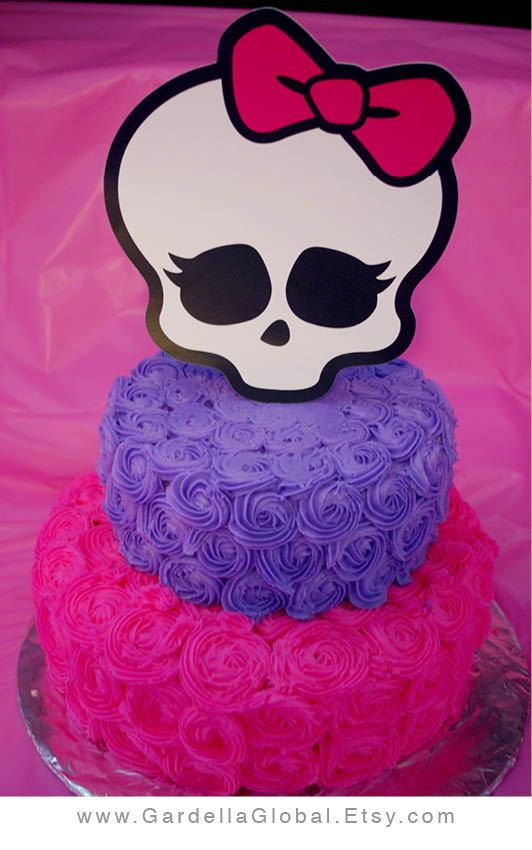 Monster High Birthday, Monster High Birthday Party Ideas, Monster High Party…