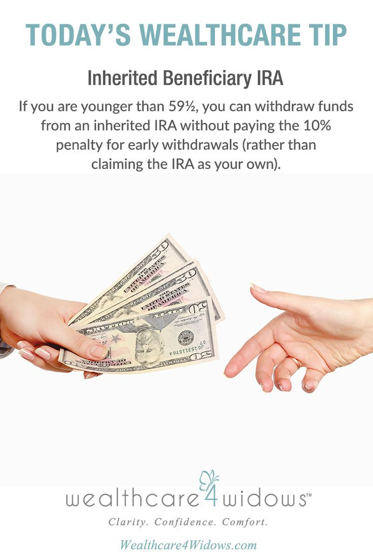 Today's Wealthcare Tip for #Widows: Inherited Beneficiary IRA