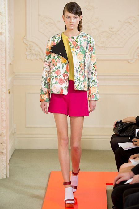 Beautiful printed jackets as seen at Eudon Choi are a must have for all seasons #LFW #MaxMyStyle Eudon Choi Spring 2014 Ready-to-Wear Collection Slideshow on Style.com