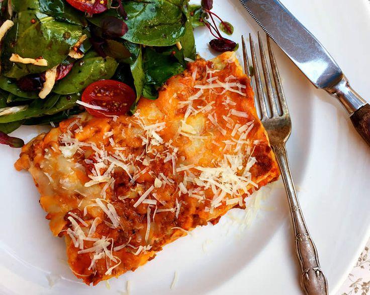 Mustard Cheeseburger Lasagna - SaskMustard