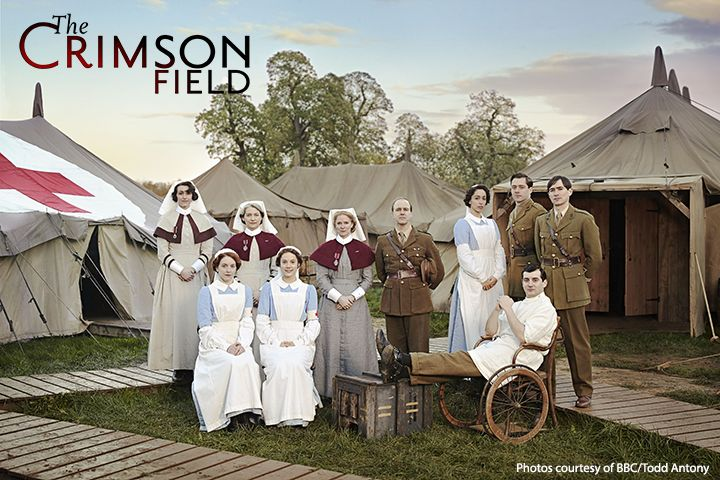 Meet WWI's frontline medics and learn their hopes, fears, triumphs and tragedies. Oona Chaplin stars in THE CRIMSON FIELD, a drama about a tented field hospital on the coast of France.