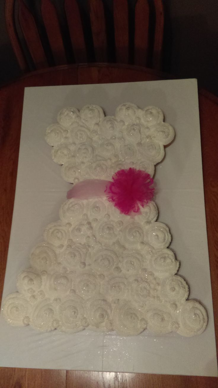 Katie's shower cake