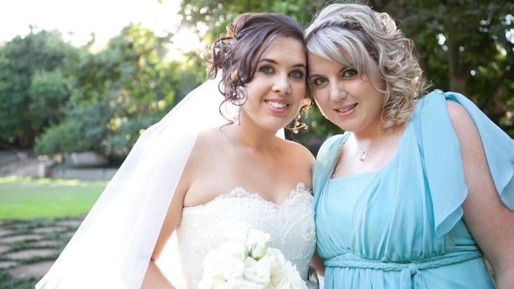 Best friend, bridesmaid and beautiful voice Bianca Barnard