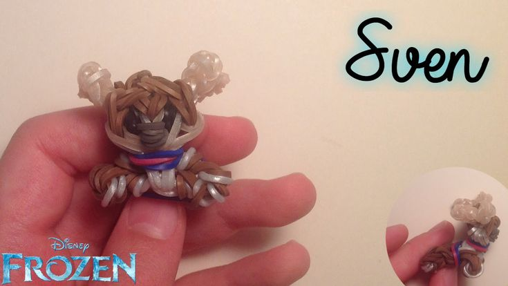 Rainbow Loom Sven Charm | Frozen | Tidbits Holiday