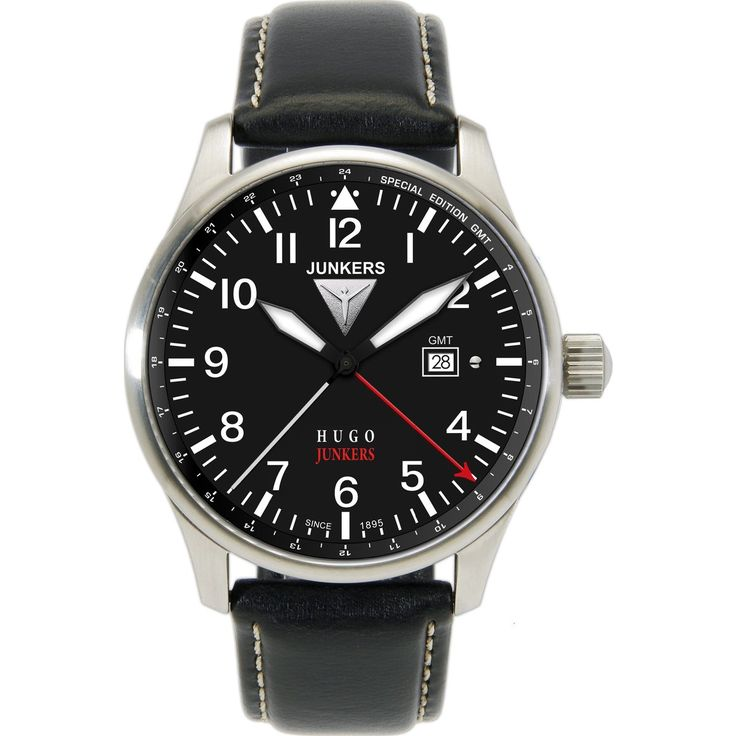 Junkers 6644-2 Hugo Junkers. 40mm case. 10mm thickness.