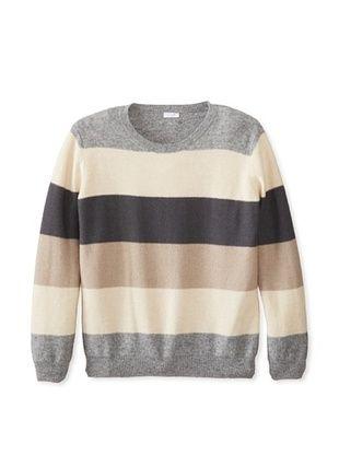 30% OFF Il Gufo Kid's Stripe Sweater (Stone)