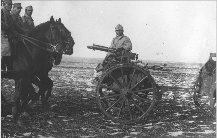 WW1, Romanian Machine Gun