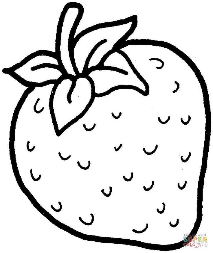 24 Pretty Photo Of Strawberry Coloring Page Davemelillo Com Fruit Coloring Pages Coloring Pages For Kids Coloring Pages To Print