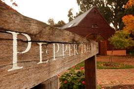 Pepper Tree Sign