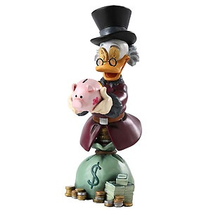 Scrooge McDuck - Uncle Scrooge - Bust - Walt Disney Mini Busts - World-Wide-Art.com - $65.00