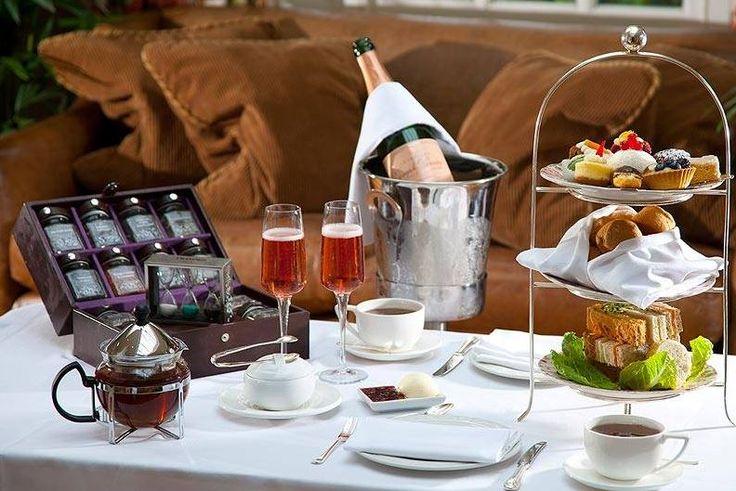 Afternoon tea for two: £27.50 per person @ Blue Door Bistro London WC1 http://www.opentable.co.uk/blue-door-bistro