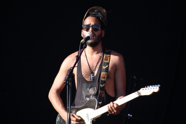 After St. Vincent we caught a bit of Twin Shadow's Día de la Música set in Madrid.