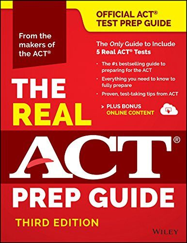 The Real ACT Prep Guide (Book + Bonus Online Content) by ACT http://www.amazon.com/dp/111923641X/ref=cm_sw_r_pi_dp_WYHzwb0WFMR6T