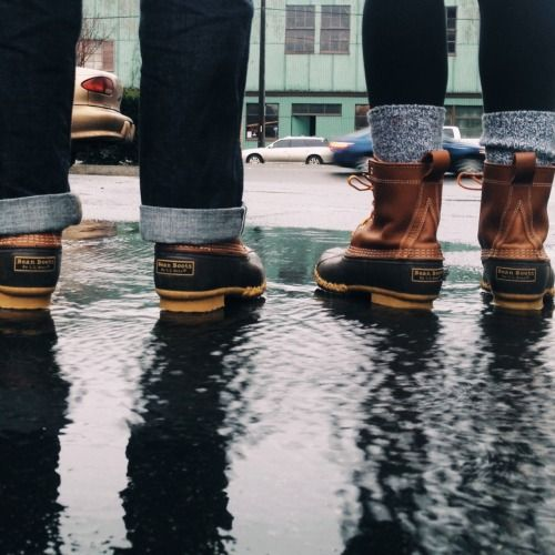 ラバーブーツで雨の日もこだわりの足元でおしゃれに♪
