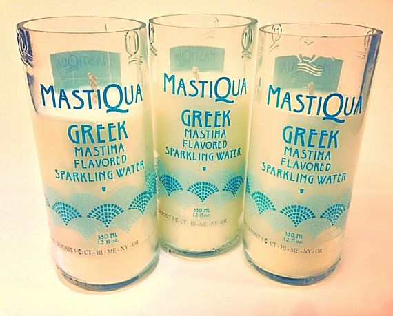 Mastiqua Linen Scented Candles by AdamsBottleShop on Etsy