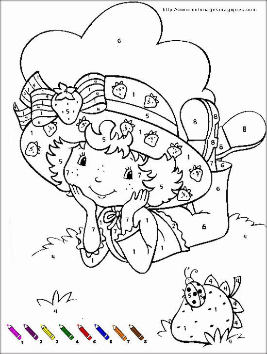 26 best images about coloriage colouring on pinterest - Charlotte au fraise coloriage ...