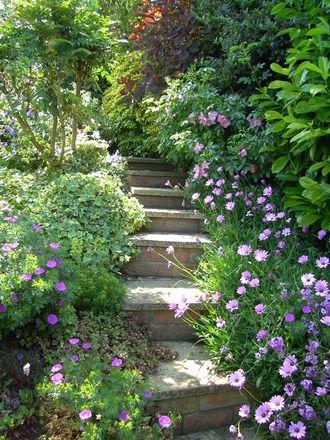 1000 images about l 39 art des escaliers de jardins on pinterest gardens wooden steps and toronto - Escalier jardin ...