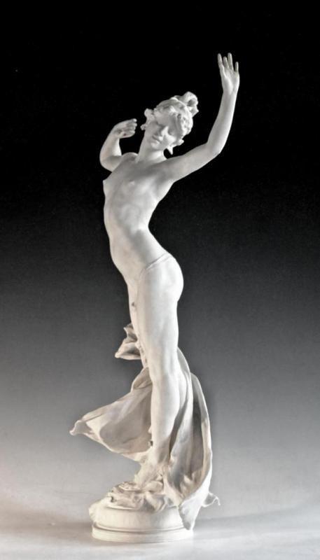 Roussel Paul 1867-1928 France Plaster exhibited at the Salon of 1906 Paris