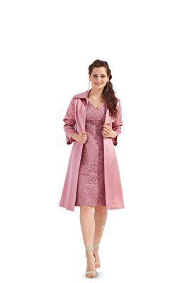 7108 Burda Schnittmuster Kleid und Mantel