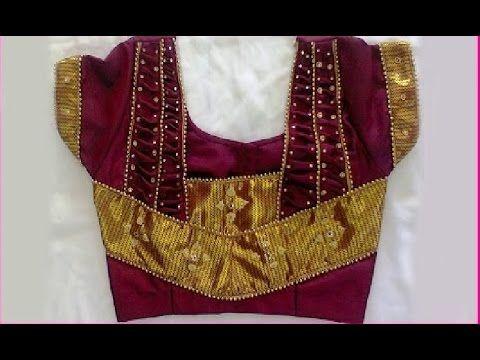 e22655bdf Patch work blouse designs for pattu sarees | Ladies Corner | Things ...