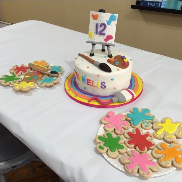 10 best pwat birthday cakes images on pinterest birthday for Painting with a twist rittenhouse