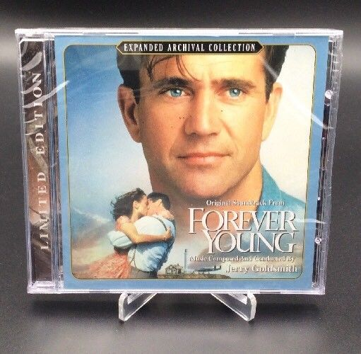 Mel Gibson FOREVER YOUNG JERRY GOLDSMITH SCORE Soundtrack LTD ED CD Sold Out #FilmScoreSoundtrack #MelGibson