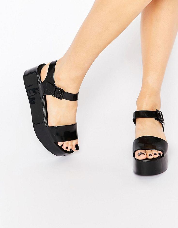Image 1 ofMelissa Mar Flatform Sandals