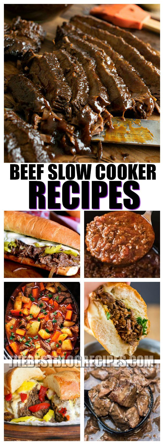 21+ Beef Slow Cooker Dinner Recipes that include Tacos, Sandwiches, Stew, and Brisket. These recipes are known for their deep flavors and easy directions. With their savory flavors and delicious ingredients, you can be sure that any of these recipes will be a favorite among your guests!