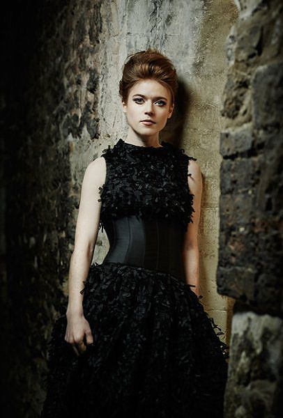 Okay I may be a little obsessed with this photo shoot, here's Ygritte looking a bit like a crow