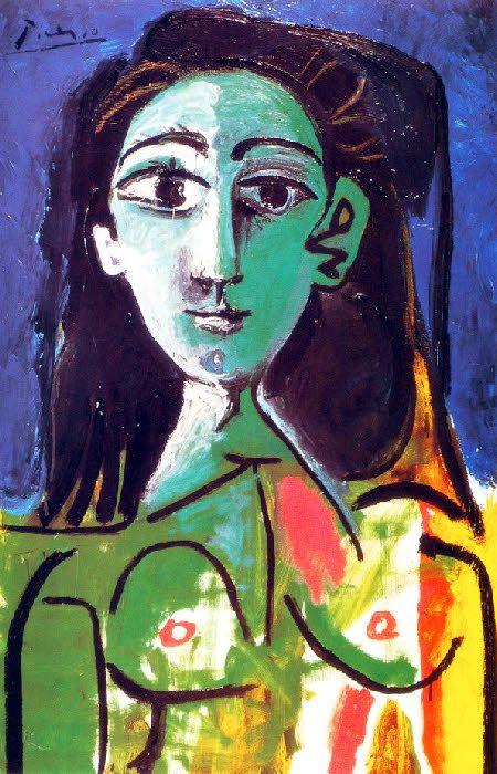 Picasso -Portrait de Jacqueline
